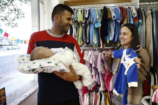 Brechós infantis tem roupas até 70% mais baratas. Saiba onde comprar Adriana Franciosi/Agencia RBS