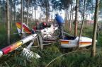 Coronel da BM sofre acidente de ultraleve em Montenegro Divulgação/Corpo de Bombeiros