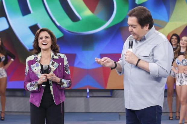 Marieta Severo discorda de Faustão após comentário sobre situação do Brasil Ellen Soares/Gshow