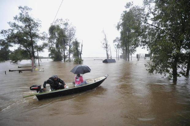 Chuva afeta 63 cidades e mais de 47 mil pessoas no RS Diego Vara/Agencia RBS
