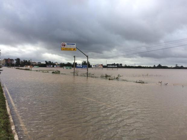 Chuva deixa quatro municípios sem água na Região Metropolitana Felipe Daroit/Rádio Gaúcha