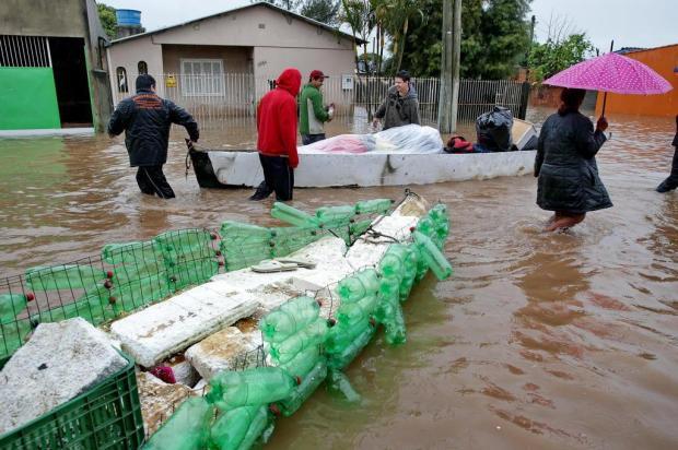 Sobe para 50 mil o número de afetados pela chuva no Estado  Fernando Gomes/Agencia RBS