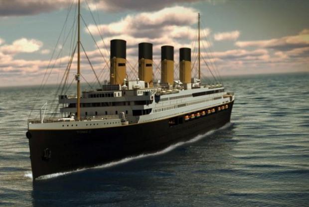 Réplica do Titanic começa a ser construída na China. Veja fotos comparativas Divulgação/