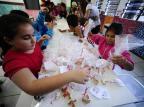 Troca de bolachas em escolas espalha paz entre as crianças de Portão Ronaldo Bernardi/Agencia RBS