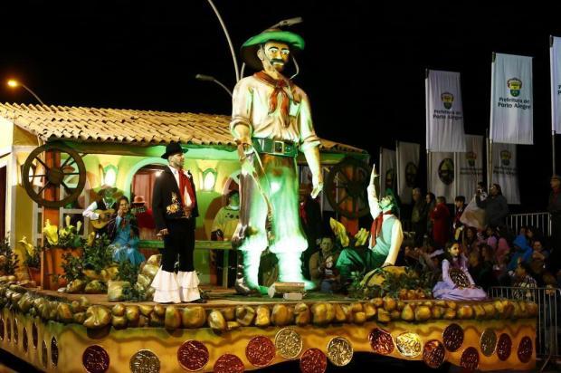 Mais uma vez gaudérios não terão desfile temático em Porto Alegre Ricardo Duarte/Agencia RBS