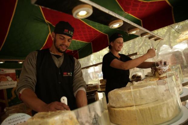 Vida saudável no acampamento: tem doce com redução de açúcar na tenda do Marrocos Carlos Macedo/Agencia RBS