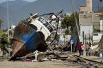Estragos causados pelo terremoto no Chile