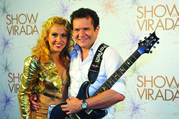 Chimbinha deve voltar a dividir palco com Joelma, neste sábado  Reinaldo Marques/TV Globo/Divulgação