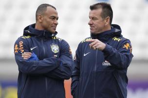Cacalo: eu acredito no Dunga e na Seleção Brasileira nas Eliminatórias (Rafael Ribeiro/CBF/Divulgação)