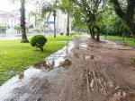 Domingo de chuva em Porto Alegre