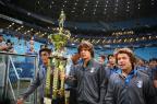 Pratas da Dupla: Grêmio homenageia campeões gaúchos sub-15 e sub-17 na Arena Félix Zucco/Agencia RBS