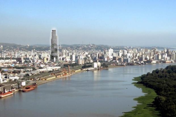 Projeto prevê arranha-céu de 256 metros para o Quarto Distrito  Repdorução/Reprodução
