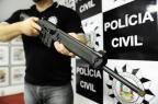 Polícia apreende fuzil norte-americano possivelmente usado em execução na Zona Norte de Porto Alegre Ronaldo Bernardi/Agencia RBS