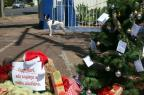 Moradores instalam árvore de Natal e penduram pedidos para a EPTC Tadeu Vilani/Agencia RBS