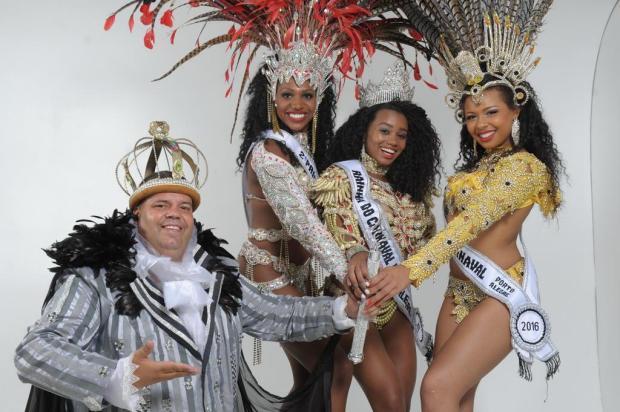 Os reis da folia em 2016: conheça a Corte do Carnaval de Porto Alegre Luiz Armando Vaz/Agencia RBS