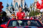 Pedro Ernesto: o desfile de D'Alessandro e do Inter no Parque da Disney (Florida Cup/Divulgação)
