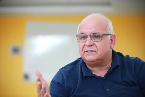 """Presidente do Grêmio comemora contratação de Bolaños: """"Tínhamos uma bala e foi um tiro certeiro"""" (Carlos Macedo/Agencia RBS)"""