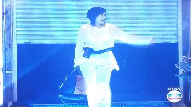 Harumi é a primeira eliminada do BBB16 Reprodução/TV Globo