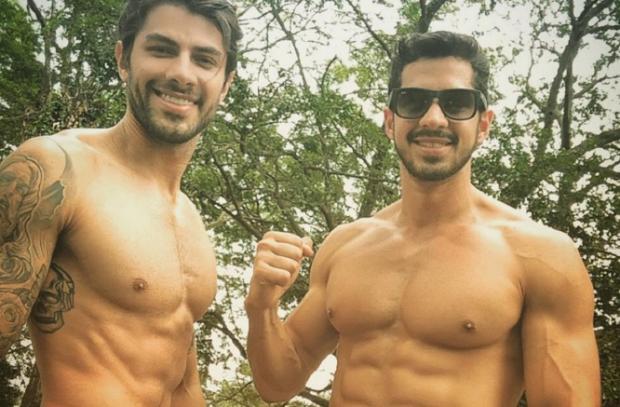 Amigo de Renan, do BBB16, responde se o galã é homossexual Instagram / Reprodução/Reprodução