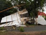 Temporal causa estragos no CT Parque Gigante