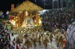 Desfile da Imperadores do Samba no Carnaval 2016
