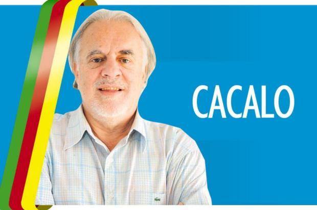 """Cacalo:""""Torcida pela vida"""" Arte/Diário Gaúcho"""