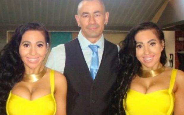 Gêmeas idênticas querem ficar grávidas ao mesmo tempo e do mesmo homem Reprodução / Facebook/Facebook