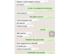 Conversa entre avó e neto no WhatsApp viraliza nas redes sociais Reprodução / WhatsApp/WhatsApp