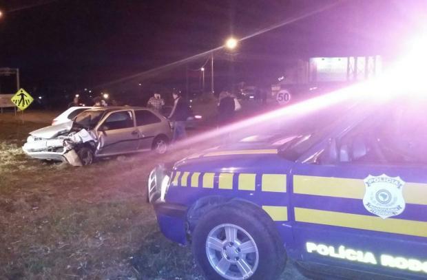 Motorista se envolve em acidente, tenta fugir a pé e morre atropelado em Santa Maria Polícia Rodoviária Federal/Divulgação