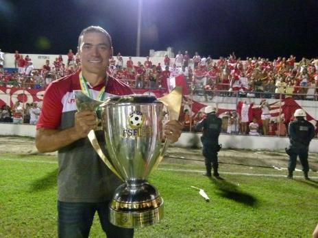 """Clemer valoriza base do Inter em conquista do Gauchão: """"Trabalho não foi à toa"""" (Divulgação/Sergipe)"""