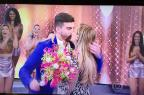 Viviane Araújo terá casamento no palco do Domingão e bancado por Faustão reprodução/TV Globo