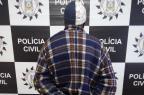 Suspeito de estuprar a filha de onze anos é preso em Canguçu Polícia Civil/Divulgação