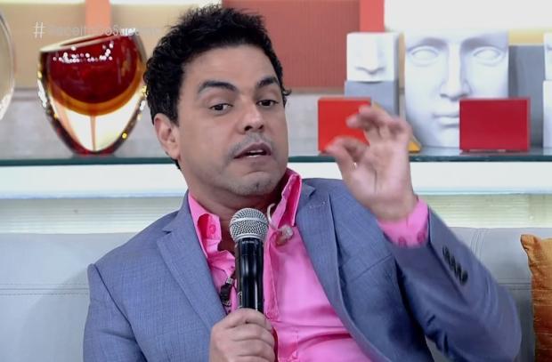 Zezé di Camargo revela que foi ameaçado de morte em rede social TV Globo / Reprodução/Reprodução