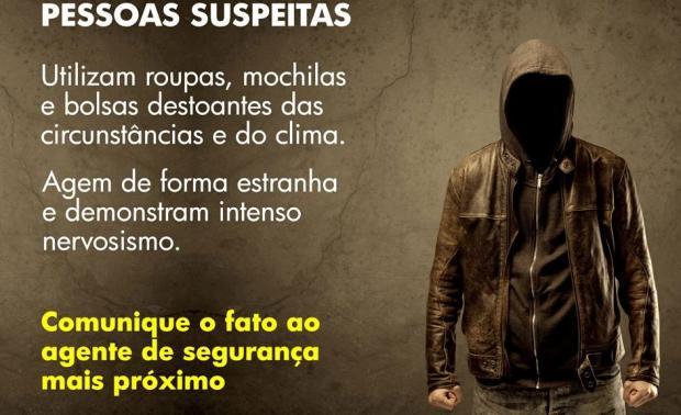 Postagem da Abin gera críticas na internet ao descrever pessoas suspeitas de terrorismo Reprodução / Facebook/Facebook
