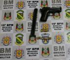 Adolescente é apreendido por atirar em oito pessoas em bar de Canoas Divulgação/Brigada Militar