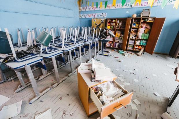 Polícia trabalha com duas hipóteses para depredação de escola na Capital Omar Freitas/Agencia RBS