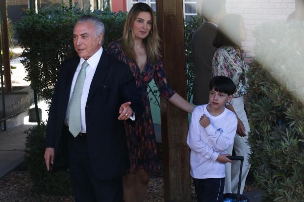 Após avisar a imprensa, Temer busca filho no primeiro dia de aula José Cruz/Agência Brasil
