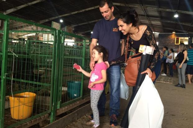 Famílias visitam a Expointer pela primeira vez Aline Custódio/Agência RBS