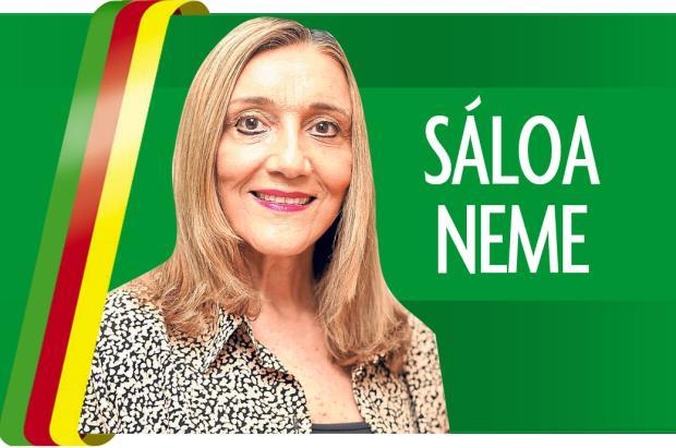 """Sáloa Neme: """"Principal ponto para estabelecer guarda dos filhos é o bem-estar deles"""" Arte/Diário Gaúcho"""