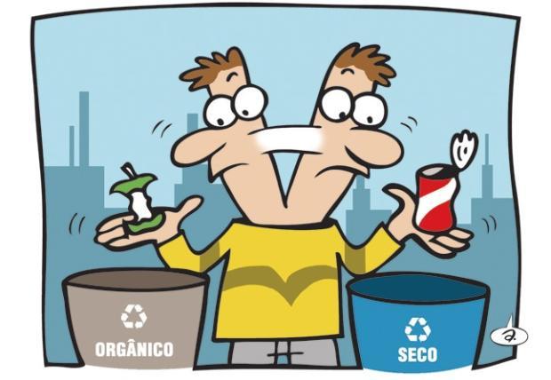 12 coisas que você provavelmente não sabe sobre a separação do lixo Arte Alexandre Oliveira/