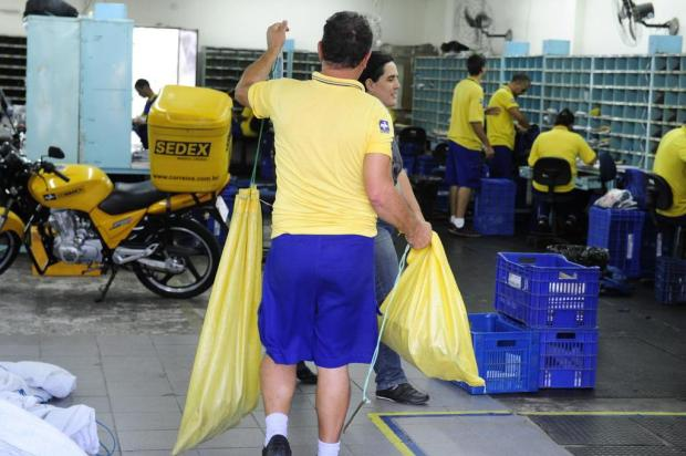 Correios informam baixa adesão à greve Ronaldo Bernardi/Agencia RBS