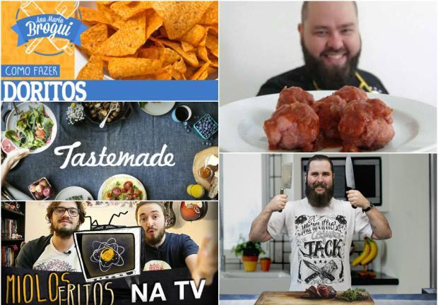 Aprenda a cozinhar com vídeos do YouTube Reprodução / Youtube/Youtube