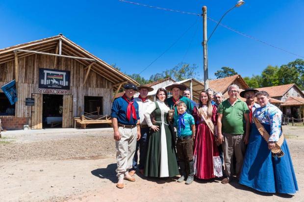 Moradores abrem associação tradicionalista em local que era um lixão Omar Freitas/Agencia RBS