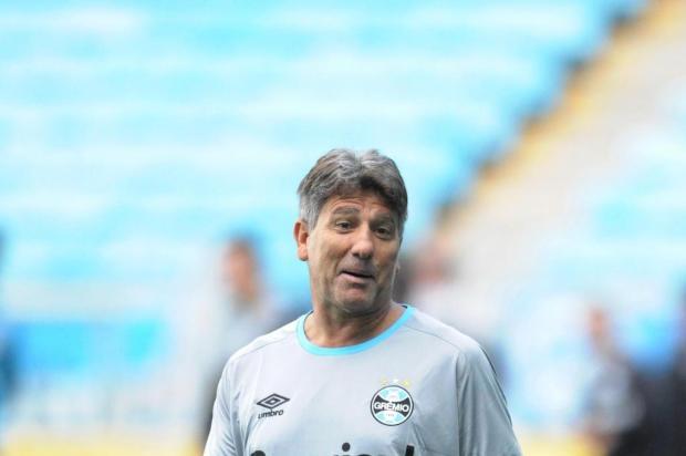 """José Augusto Barros: """"Melhoramos com a chegada de Renato"""" Luiz Armando Vaz/Agencia RBS"""