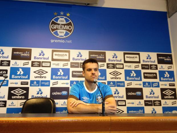 """Pedro Ernesto: """"Recuperação"""" Filipe Gamba/Gaúcha"""