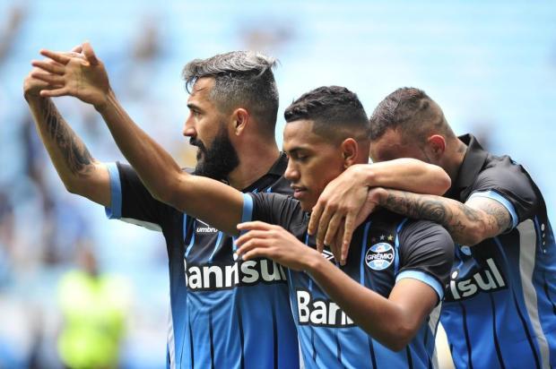 """Guerrinha: """"Desta vez o Grêmio foi efetivo"""" Fernando Gomes/Agencia RBS"""