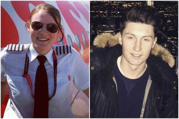 Eles são jovens, mas já se tornaram piloto e copiloto de uma companhia aérea britânica Reprodução / Facebook/Facebook