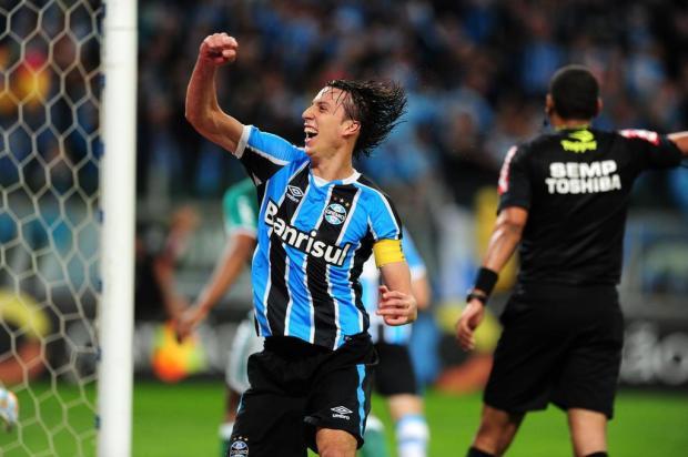 """Guerrinha: """"Grêmio se atirou de corpo e alma"""" André Ávila/Agencia RBS"""