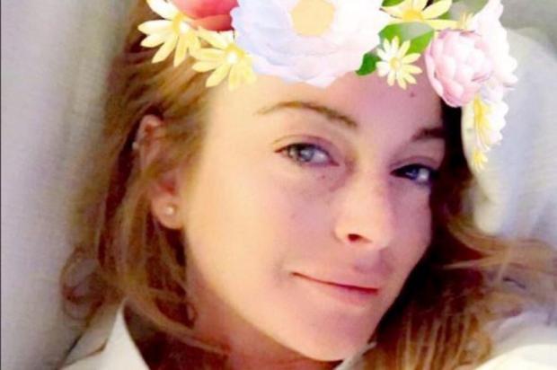 Lindsay Lohan perde parte do dedo em acidente de barco Instagram/Reprodução