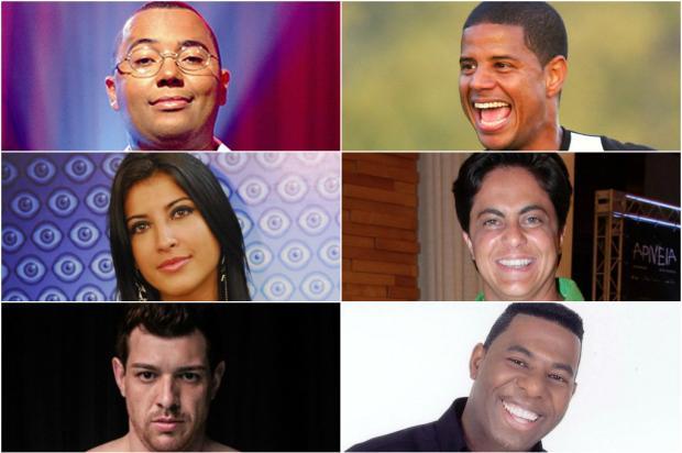 Veja os candidatos famosos que não se elegeram pelo Brasil Montagem sobre fotos / Reprodução/Reprodução